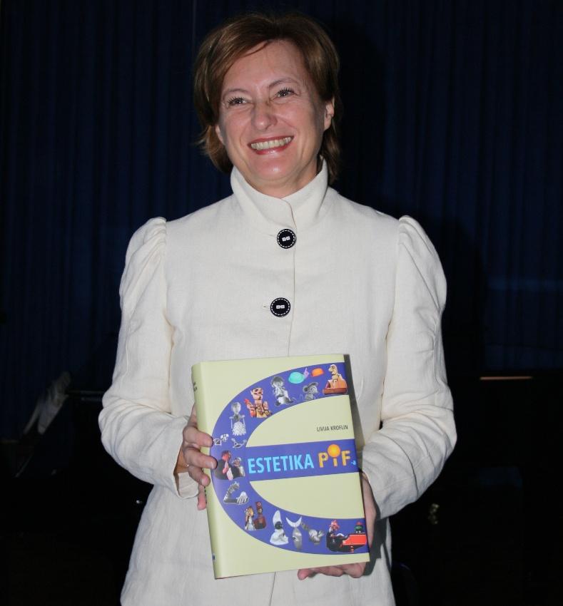 "Livija Kroflin na promociji knjige ""Estetika PIF-a"", foto, Ivan Špoljarec"
